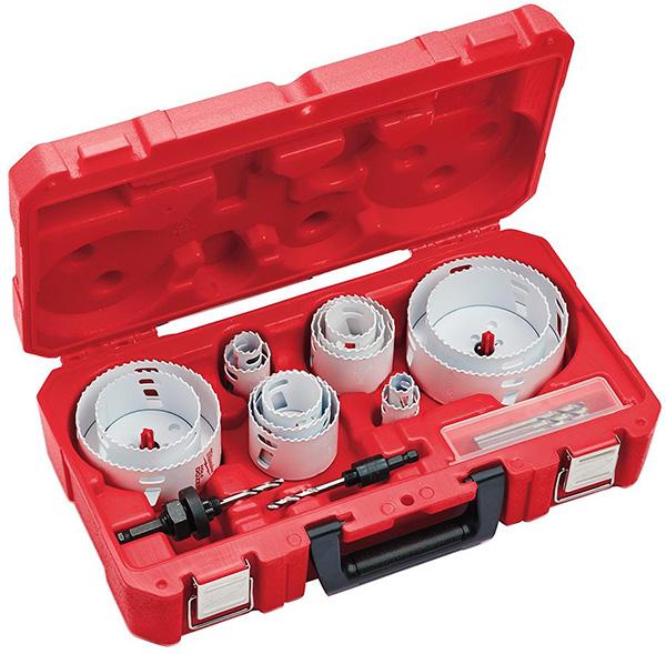 Home Depot Dewalt Milwaukee Tool Deals of the Day 4-23-20 Milwaukee Hole Saw Set