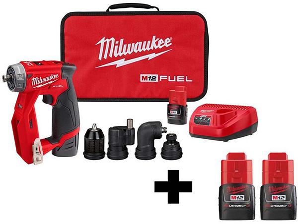 Home Depot Dewalt Milwaukee Tool Deals of the Day 4-23-20 Milwaukee Installation Driver