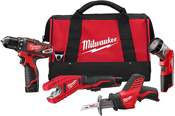 Home Depot Dewalt Milwaukee Tool Deals of the Day 4-23-20 Milwaukee M12 Plumbing Kit