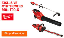 Milwaukee M18 Spring 2020 Cordless Outdoor Power Tool Deal
