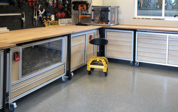 My DIY Multi-Function Table - Part 1 Goals and the Frame - 2019 Workshop Design