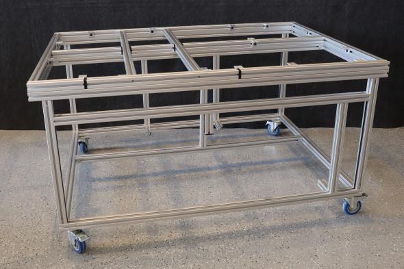 My DIY Multi-Function Table - Part 1 Goals and the Frame - Faztek Aluminium Frame