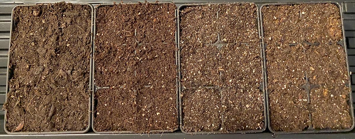 Seedling Mix Experiment 2020