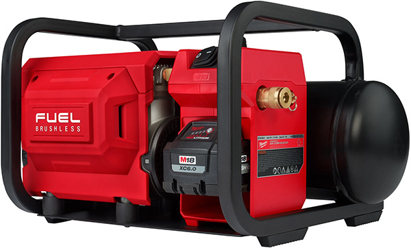 Milwaukee 2840-20 Cordless Air Compressor Front