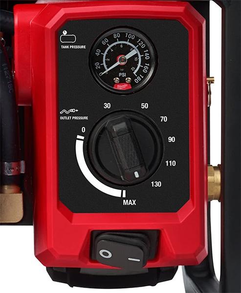 Milwaukee 2840-20 Cordless Air Compressor Pressure Gauge and Regulator