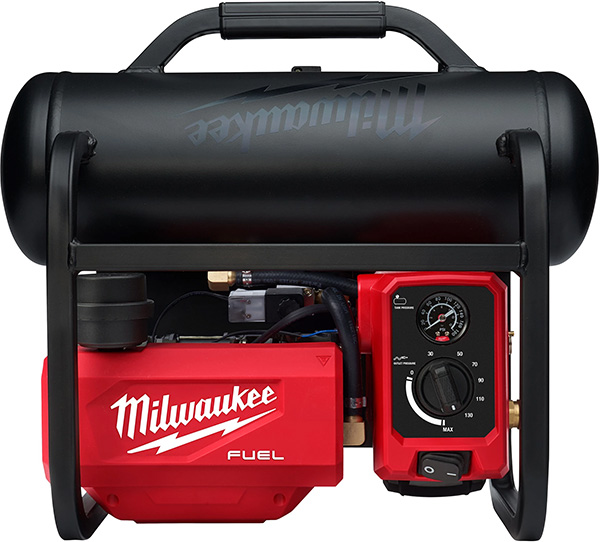 Milwaukee 2840-20 Cordless Air Compressor Top