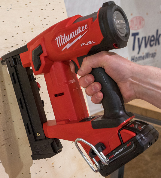Milwaukee M18 Fuel Cordless Crown Stapler
