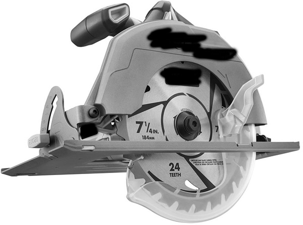Brand X Brushless Circular Saw