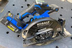 Kobalt 24V Max XTR Cordless Circular Saw Hero