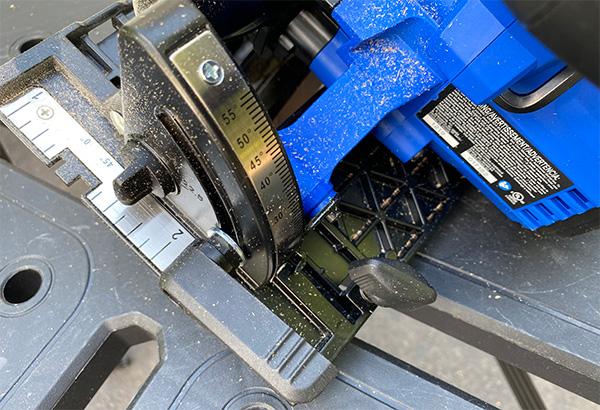 Kobalt 24V Max XTR Cordless Circular Saw Levers