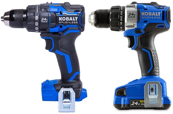 Kobalt 24V Max XTR Cordless Drill Driver Comparison