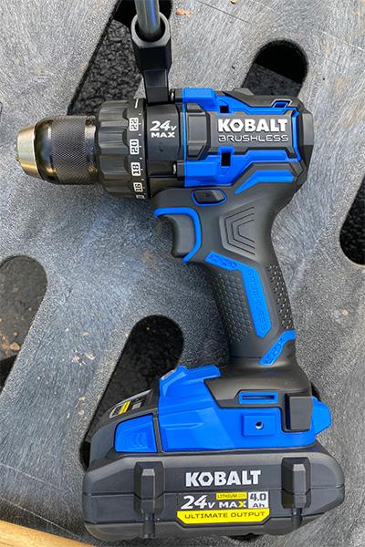 Kobalt 24V Max XTR Cordless Drill Driver