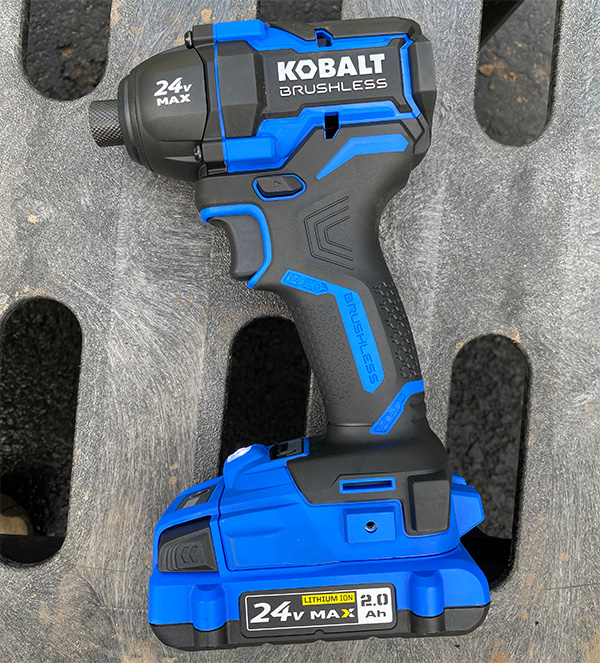 Kobalt 24V Max XTR Cordless Impact Driver
