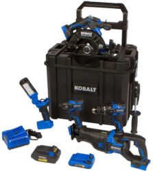 Kobalt 24V Max XTR Cordless Power Tool Combo Kit