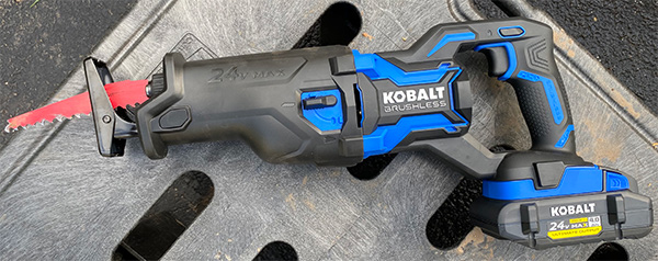 Kobalt 24V Max XTR Cordless Reciprocating Saw