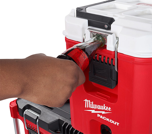 Milwaukee Packout Cooler Tool Box Bottle Opener