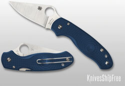 Spyderco Para 3 Lightweight Cobalt Blue FRN SPY27 at KnivesShipFree