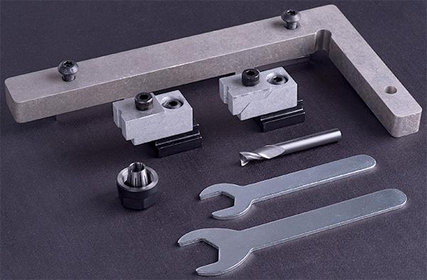 Bantam CNC Aluminum Milling Machine Tooling