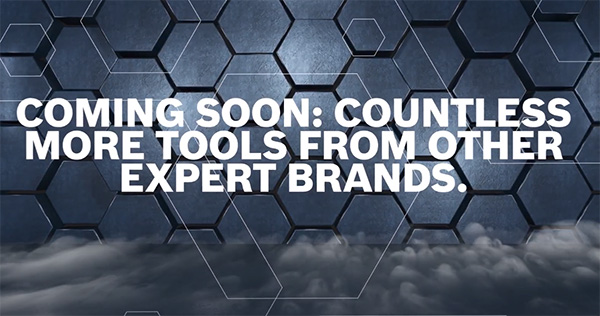 Bosch 18V Cordless Power Tool Alliance - Countless More Tools Slide
