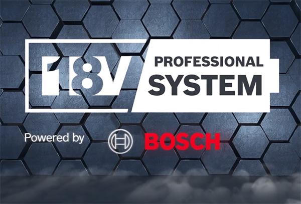 Bosch 18V Cordless Professional System