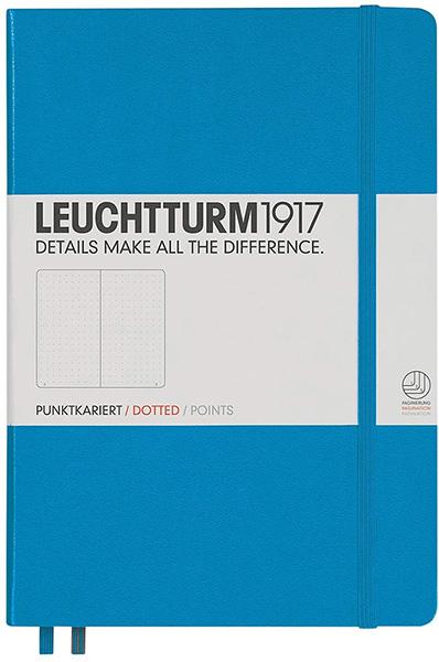 Leuchtturm1917 Medium A5 Dotted Hardcover Notebook