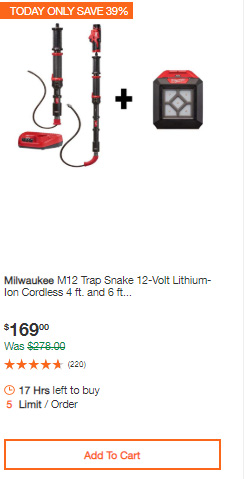 Milwaukee Cordless Power Tools Deals of the Day Home Depot 7-13-20 Page 4