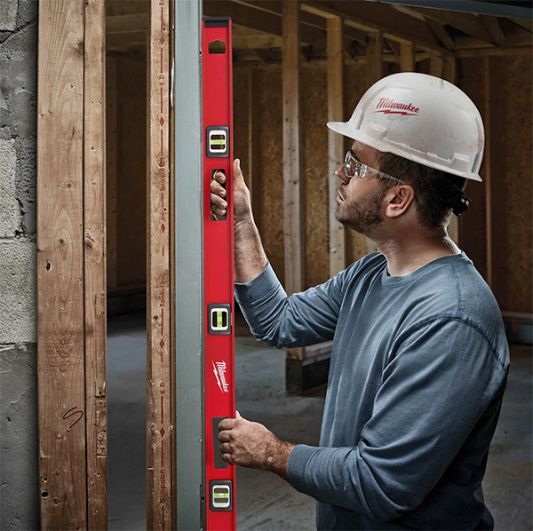 New Milwaukee USA-Made Magnetic I-Beam Levels