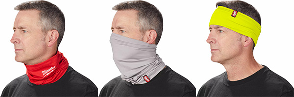 Milwaukee Tool Neck Gaiter Face Mask Colors