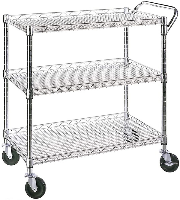 Seville Wire Shelving Cart
