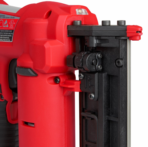 Milwaukee M12 23 Gauge Pin Nailer Side View