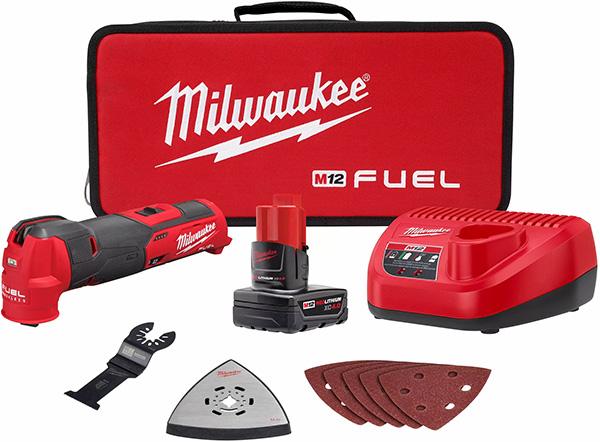 Milwaukee M12 Fuel 2526 Oscillating Multi-Tool Kit