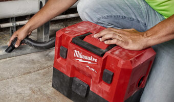 Milwaukee M12 Fuel Cordless Wet-Dry Vacuum Application Example