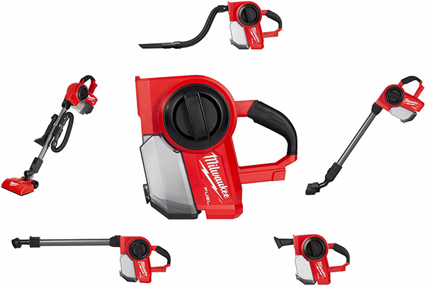 Milwaukee M18 Fuel Compact Vacuum Configurations