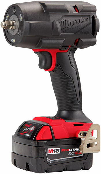 Milwaukee M18 Fuel Mid-Torque Impact Wrench with Rubber Boot