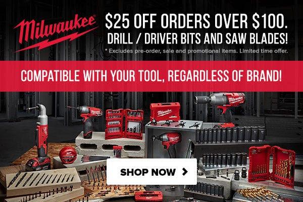 Milwaukee Tool Flash Sale Tool Nut 8-25-20 Power Tool Accessories