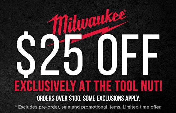 Milwaukee Tool Flash Sale Tool Nut 8-25-20