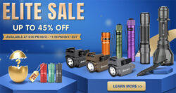 Olight EDC LED Flashlight Elite Sale 08-2020