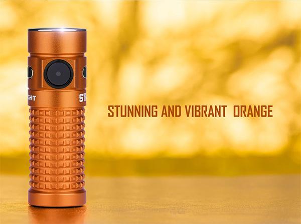 Olight Orange S1R Baton II EDC Flashlight