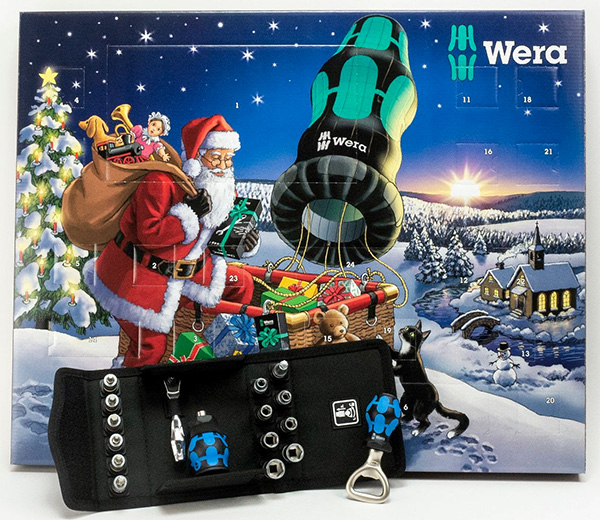 Wera Tools Advent Calendar 2020 with Box