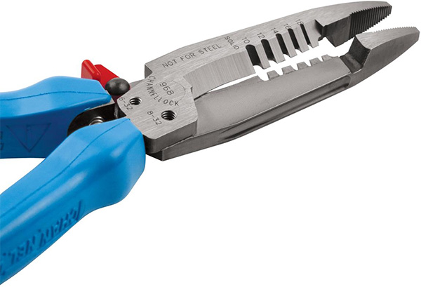 Channellock Wire Strippers Closeup