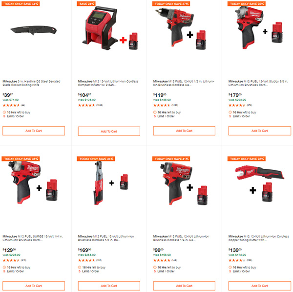 Home Depot Milwaukee Tool Deals of the Day 9-24-2020 Page 4