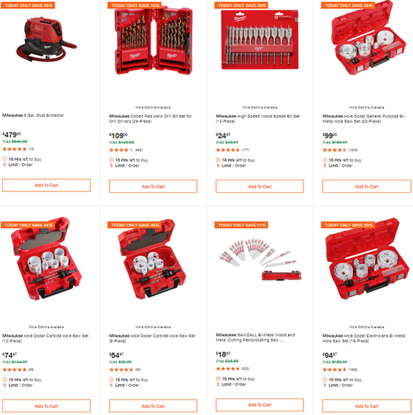 Home Depot Milwaukee Tool Deals of the Day 9-24-2020 Page 5