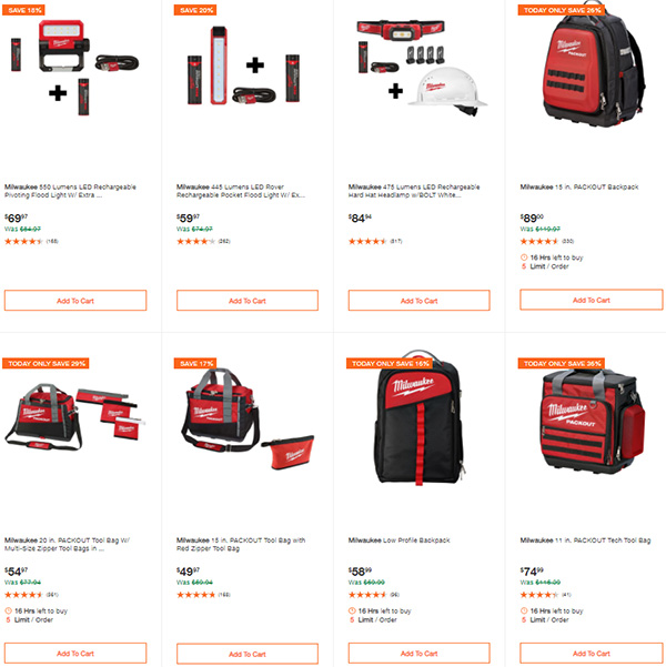 Home Depot Milwaukee Tool Deals of the Day 9-24-2020 Page 7