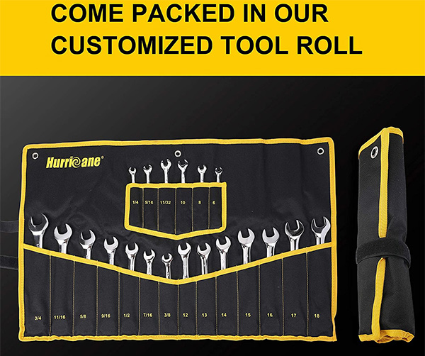 Hurricane Combination Wrench Set