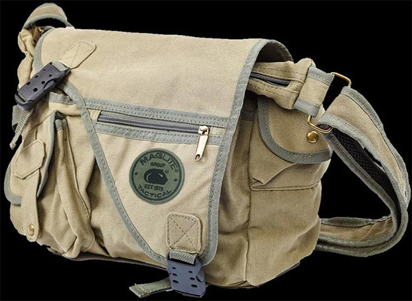 Maglite Bug Out Bag Messenger Bag Style