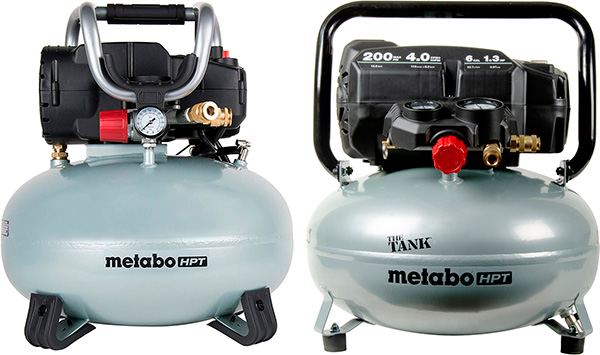 Metabo HPT The Tank vs Standard Pancake Air Compressor Comparison