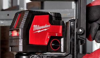 Milwaukee Green Laser with Micro-Adjust Base