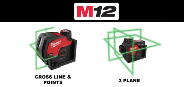 Milwaukee M12 Lasers