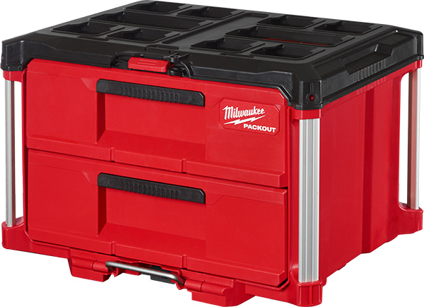 Milwaukee Packout 2-Drawer Tool Box