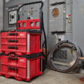 Milwaukee Packout Cart with Drawered Tool boxes